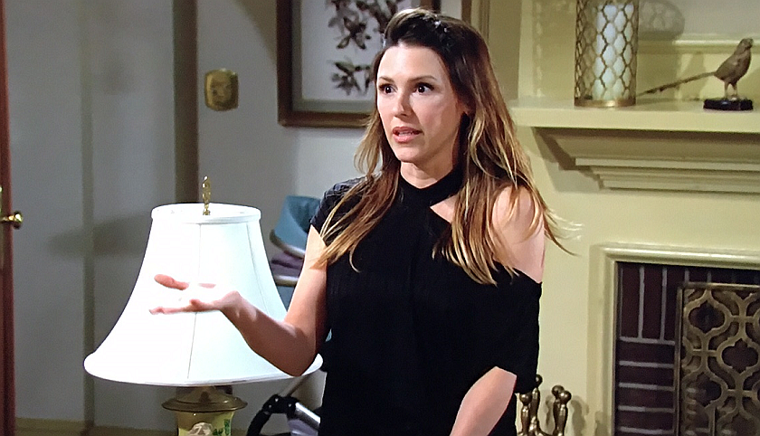 Young And The Restless Scoop: Chloe Mitchell Talks To Chance Chancellor
