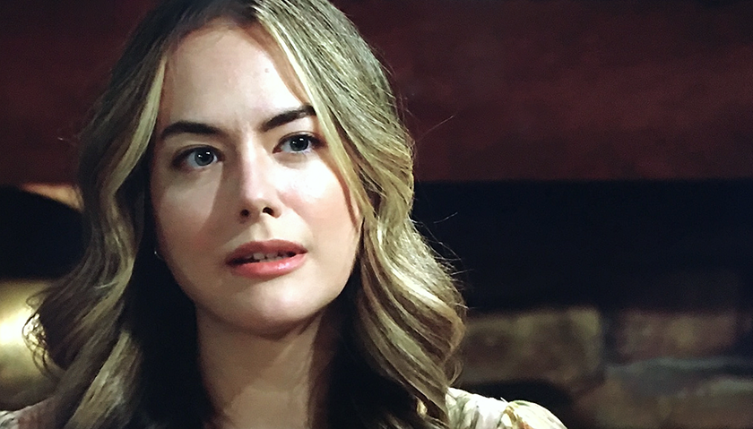 Bold And The Beautiful Scoop: Hope Spencer Is Afraid For Thomas Forrester