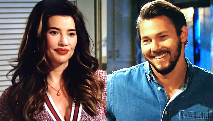 Bold And The Beautiful Poll: Steffy Forrester And Liam Spencer Discuss Their Daughter