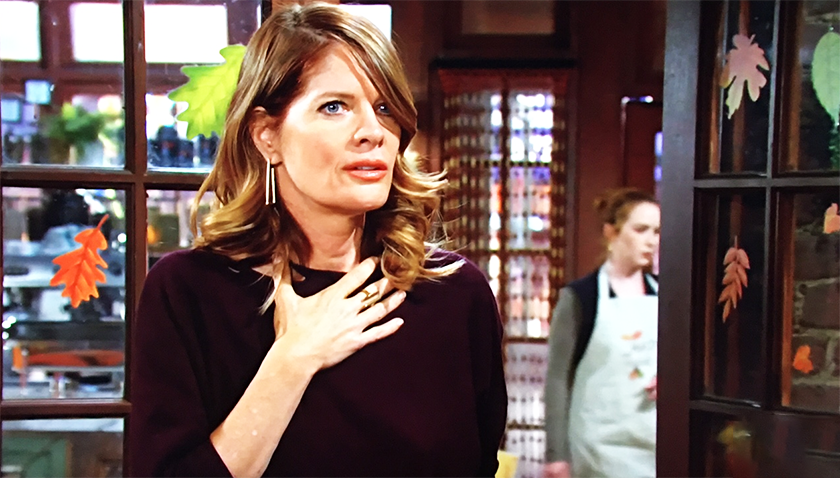 Young And The Restless Scoop: Phyllis Summers Blabs A Secret