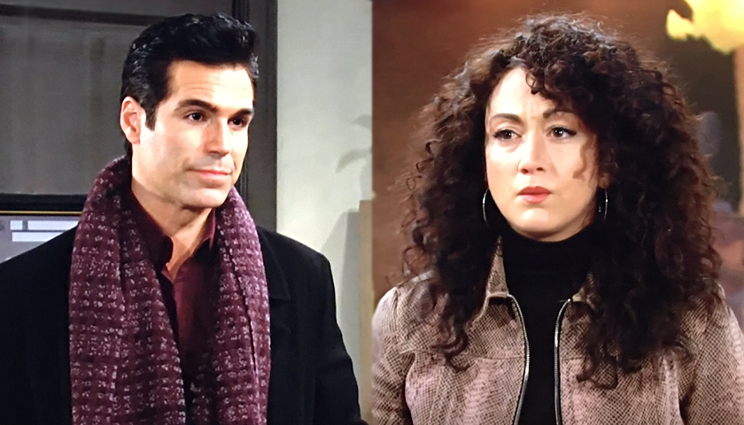 Young And The Restless Scoop: Rey Rosales Arrests Alyssa Montalvo