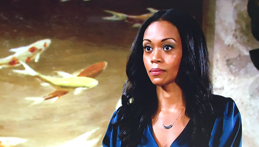Young And The Restless Scoop: Amanda Sinclair Talks To Devon Hamilton