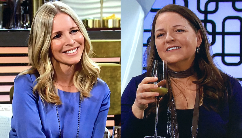 Young And The Restless Scoop: Christine Williams And Nina Webster Catch Up