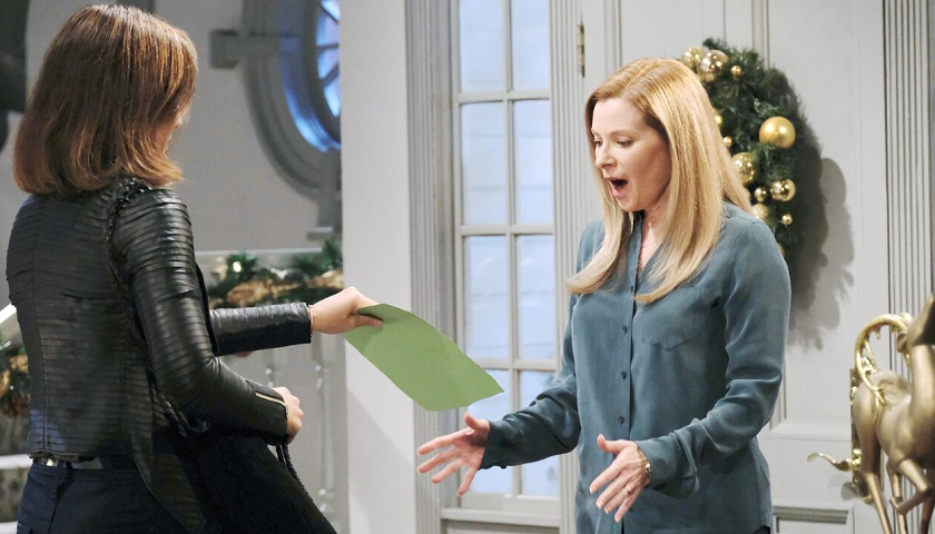 Days Of Our Lives Scoop: Gwen Rizczech Shows Jennifer Deveraux Something Damaging