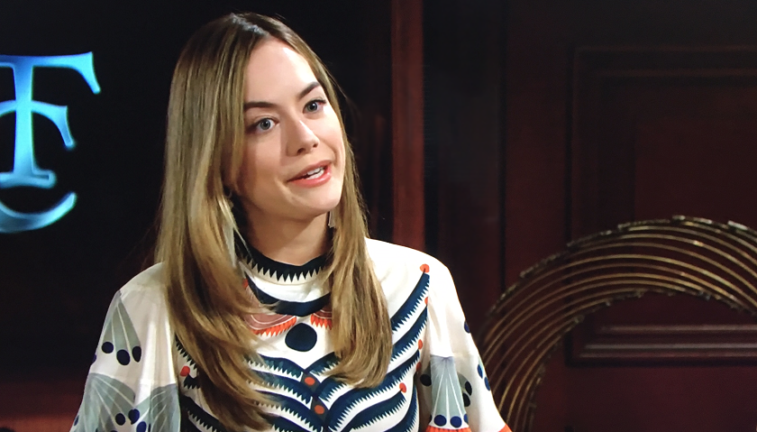 Bold And The Beautiful Scoop: Hope Spencer Praises Finn To Steam