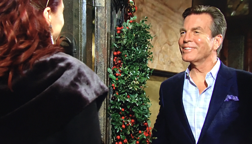 Young And The Restless Scoop: Jack Abbott Greets Sally Spectra