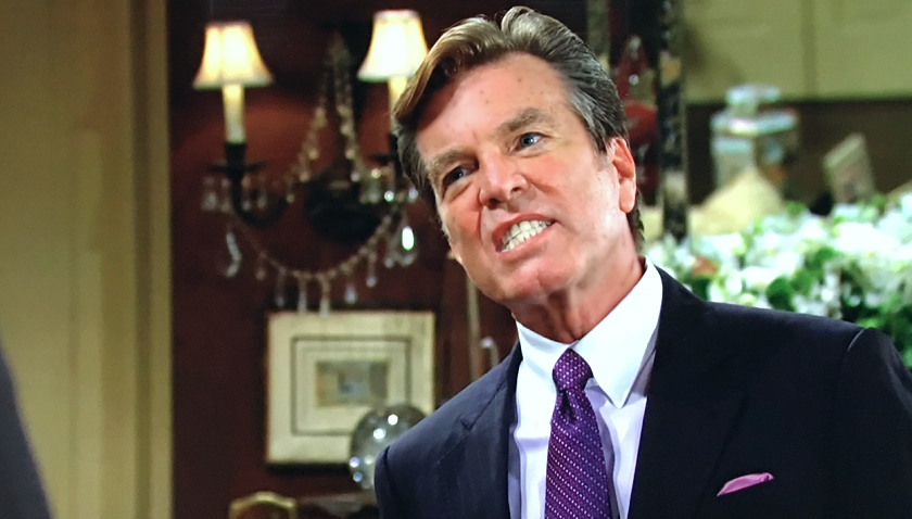 Young And The Restless Scoop: Jack Abbott Bellows At Theo Vanderway