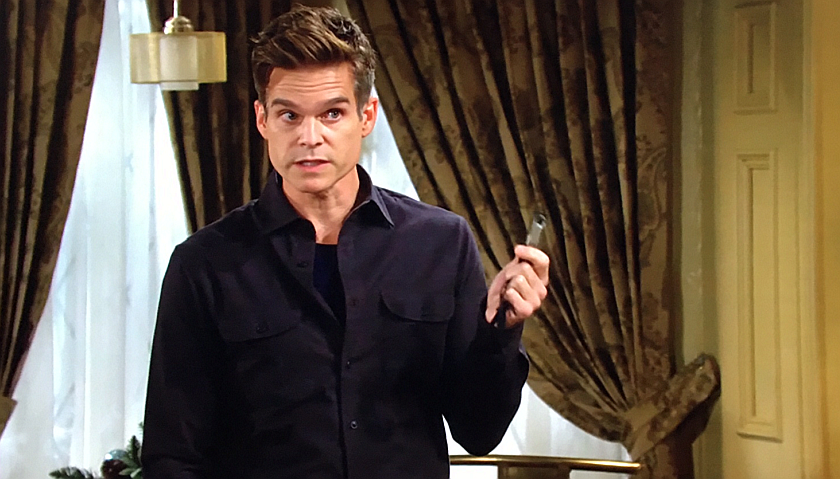 Young And The Restless Scoop: Kevin Fisher Finds A Hidden Thumb Drive
