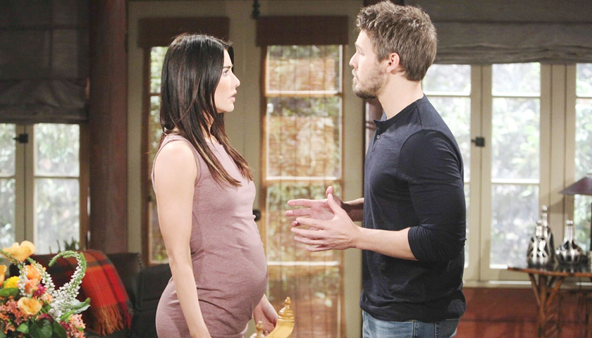 Bold And The Beautiful Scoop: Steffy Forrester Tells Liam Spencer She's Pregnant