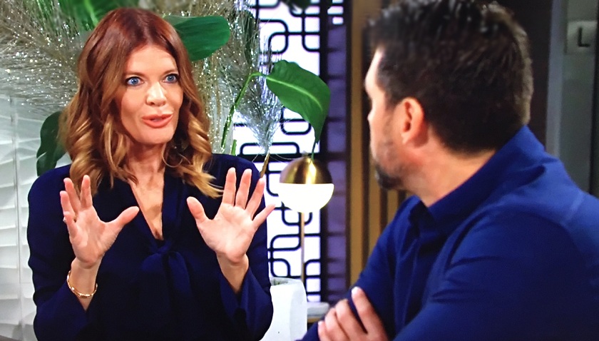 Young And The Restless Scoop: Phyllis Summers And Nick Newman Discuss The Grand Phoenix