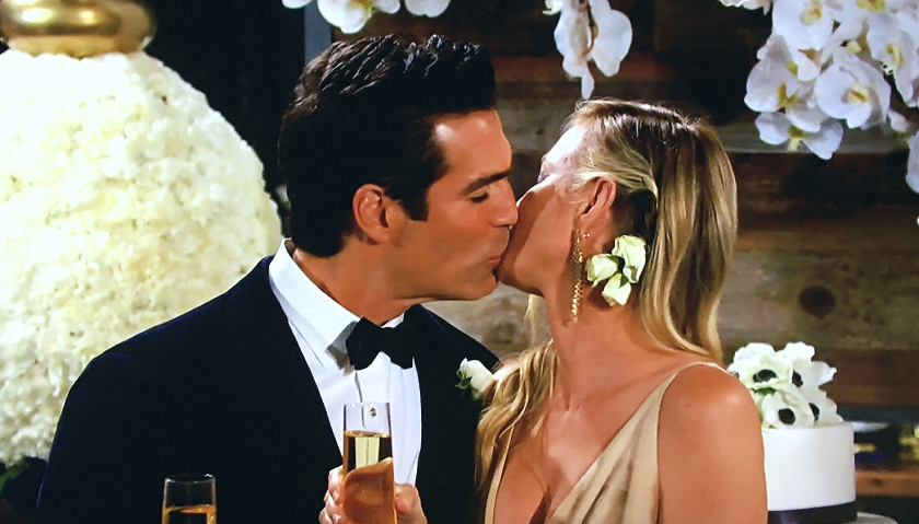 Young And The Restless Scoop: Rey Rosales And Sharon Newman Are Married