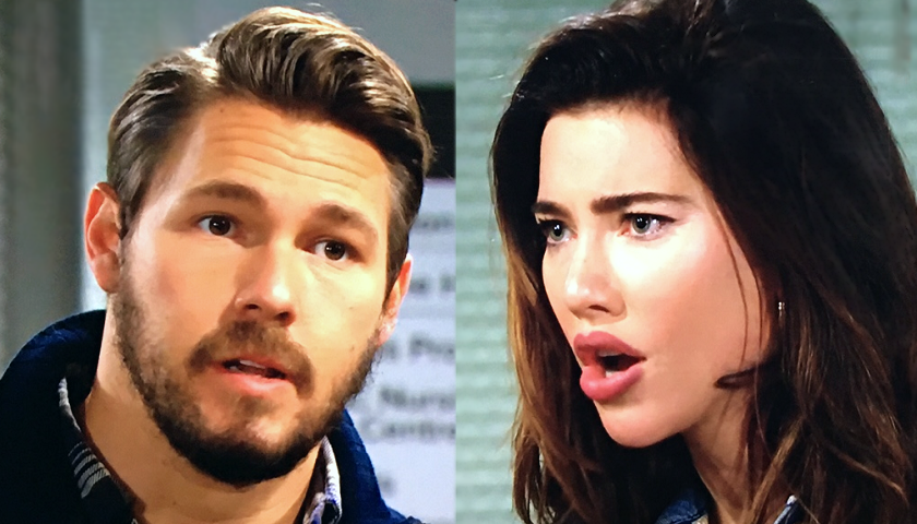 Bold And The Beautiful Scoop: Steffy Forrester And Liam Spencer Continue To Argue