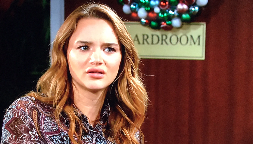 Young And The Restless Scoop: Summer Newman Argues With Sally Spectra