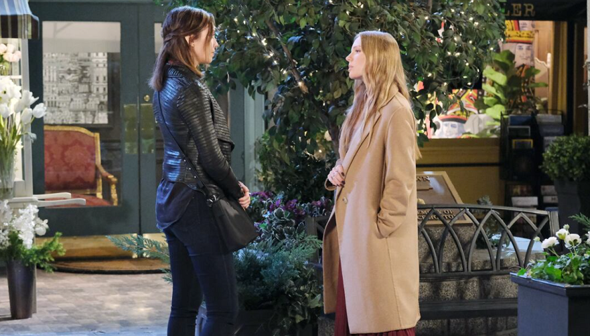 Days Of Our Lives Scoop: Abigail DiMera Confronts Her Sister