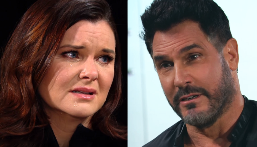 Bold And The Beautiful Scoop: Bill Spencer Asks Katie Logan For Another Chance