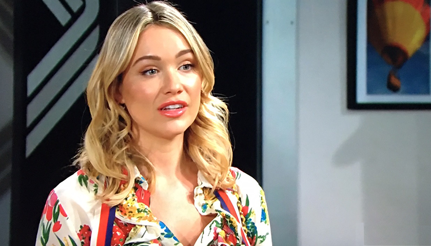 Bold And The Beautiful Scoop: Flo Fulton Gives Summer Newman The Scoop On Sally Spectra