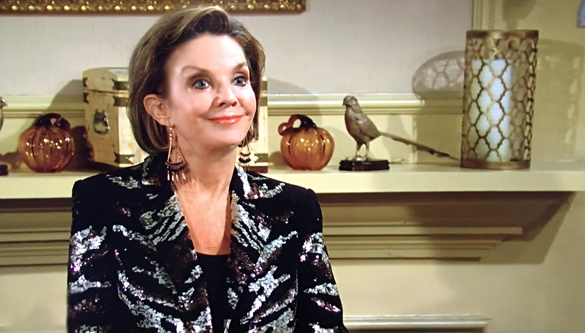 Young And The Restless News: Gloria Bardwell At Chancellor Mansion
