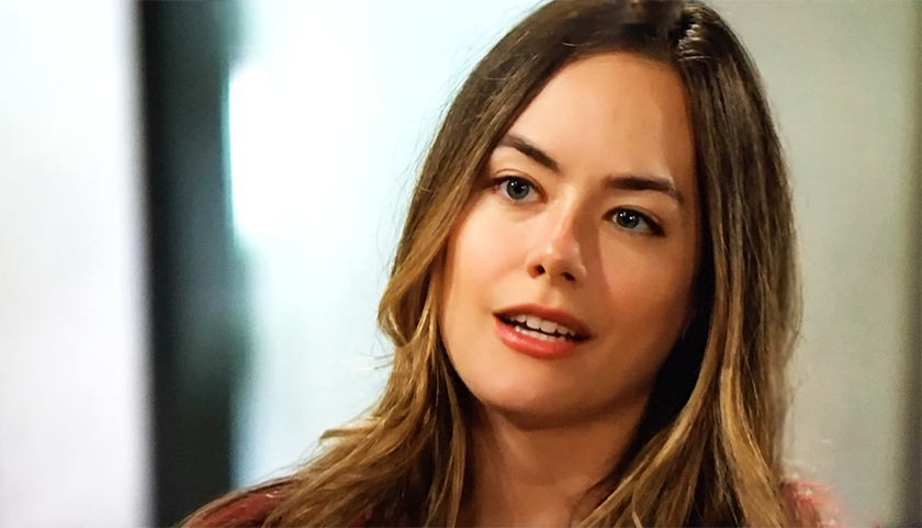 Bold And The Beautiful News: Annika Noelle Talks To Steffy Forrester