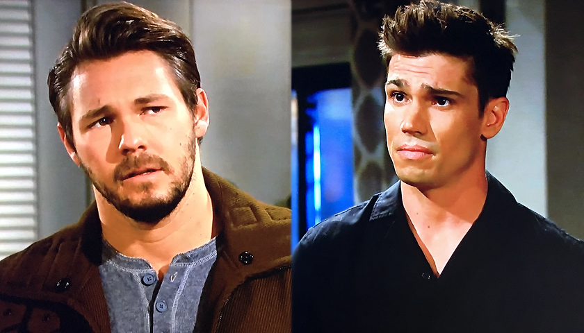 Bold And The Beautiful Scoop: FInn Confronts Liam Spencer