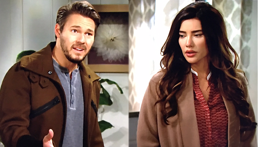 Bold And The Beautiful Scoop: Liam Spencer And Steffy Forrester Discuss Coming Clean