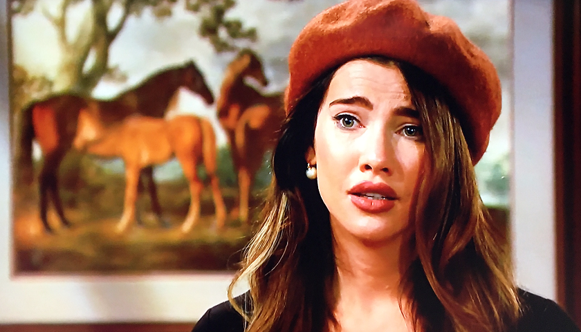 Bold And The Beautiful Scoop: Steffy Forrester Gets Her Second Paternity Test