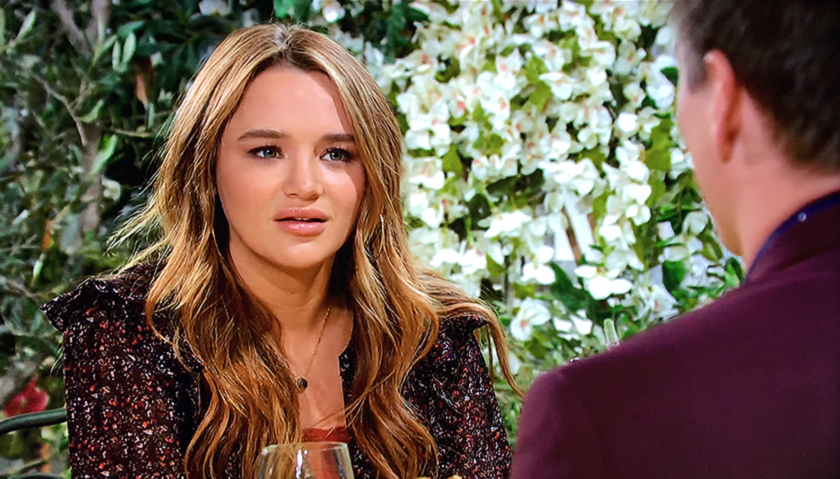 Young And The Restless Scoop: Summer Newman Meets With Wyatt Spencer