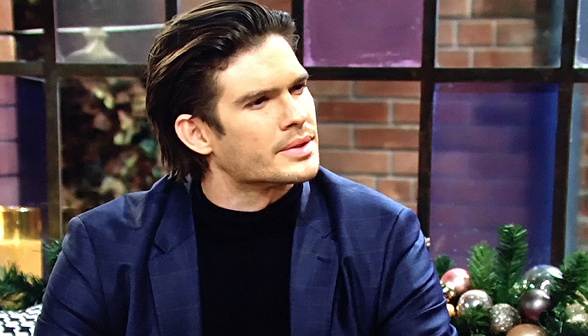 Young And The Restless News: Theo Vanderway Talks To Summer Newman