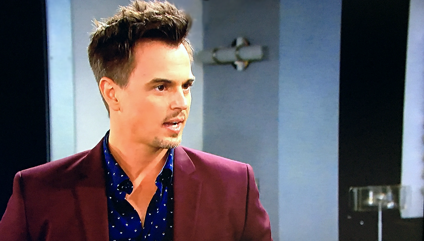 Bold And The Beautiful Scoop: Wyatt Spencer Blasts Liam Spencer