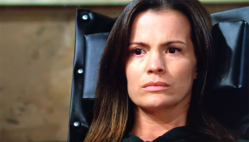 Young and The Restless Scoop: Chelsea Newman Cries After Seeing Photo Of Shadam Kissing