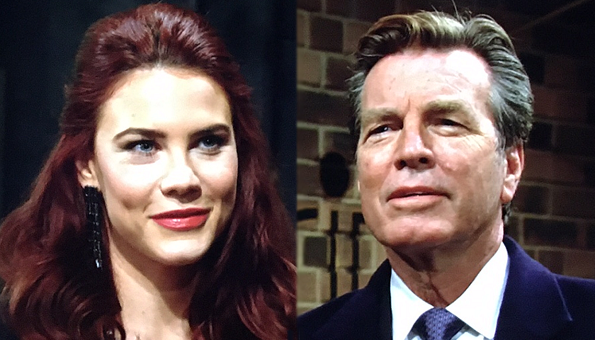 Young And The Restless Scoop: Jack Abbott And Sally Spectra Go On A Date