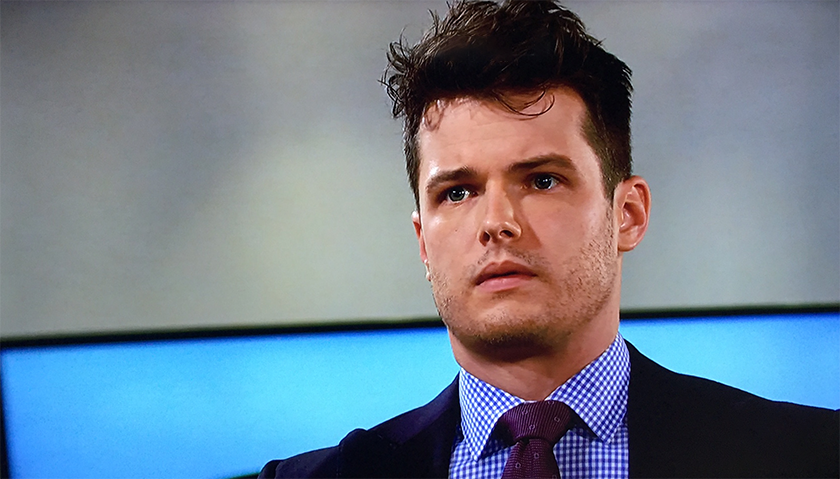 Young And The Restless Scoop: Kyle Abbott Shocked To See Theo Vanderway