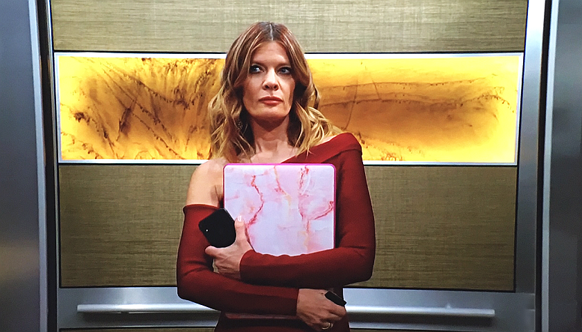 Young And The Restless Scoop: Phyllis Summers Swipes Sally Spectra's Laptop