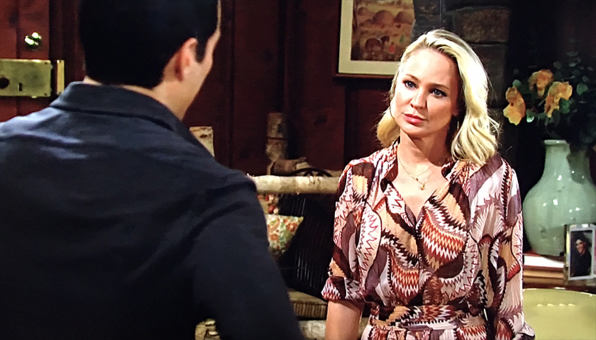 Young And The Restless Scoop: Sharon And Rey Rosales Argue About Adam Newman