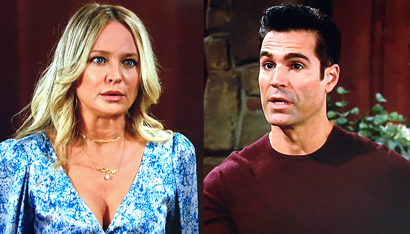Young And The Restless Scoop: Rey Rosales Tells Sharon Rosales She Can't See Adam Newman
