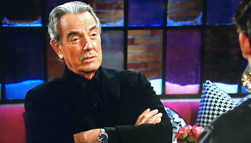 Young And The Restless Scoop: Victor Newman Chats With Adam Newman