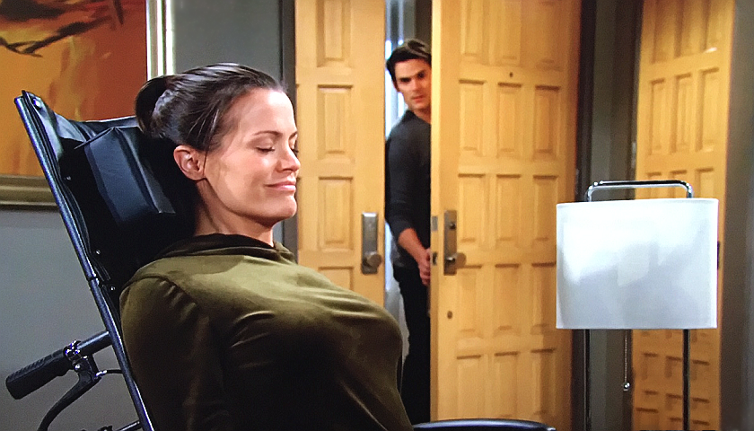 Young And The Restless Scoop: Adam Newman Sees Chelsea Newman Stretching