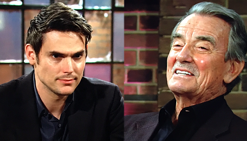 Young And The Restless Scoop: Victor Newman And Adam Newman Team Up