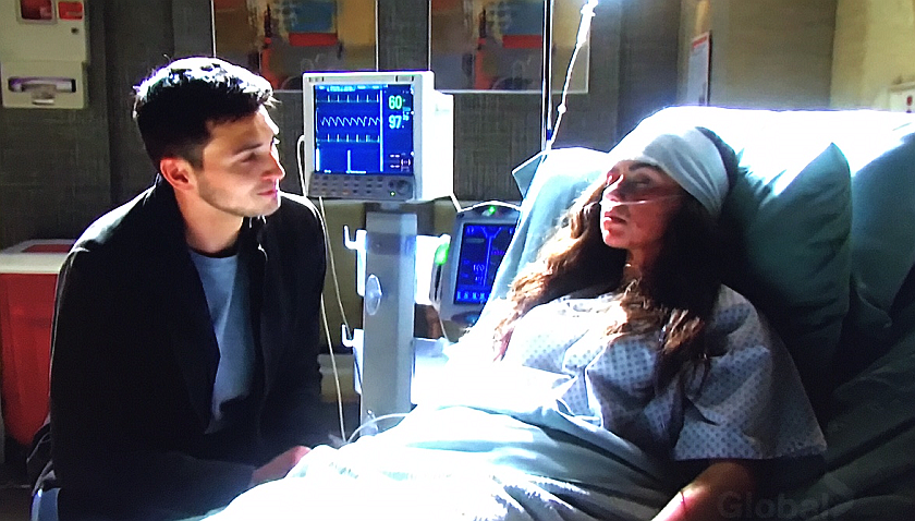 Days Of Our Lives Scoop: Ben Weston Sits Vigil At Ciara Brady's Hospital Bed