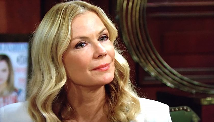 Bold And The Beautiful Scoop: Brooke Forrester Makes Her Feelings Known To Thomas Forrester