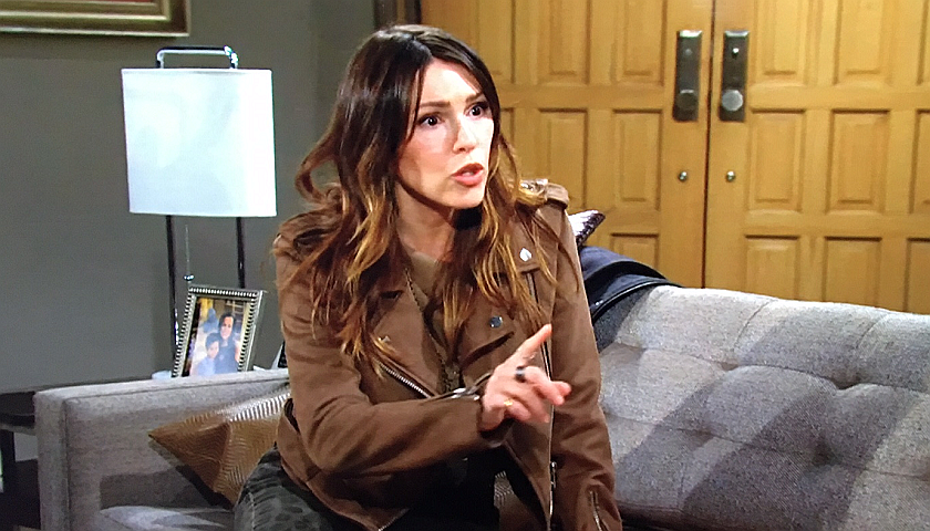 Young And The Restless Scoop: Chloe Mitchell Defends Herself To Adam Newman