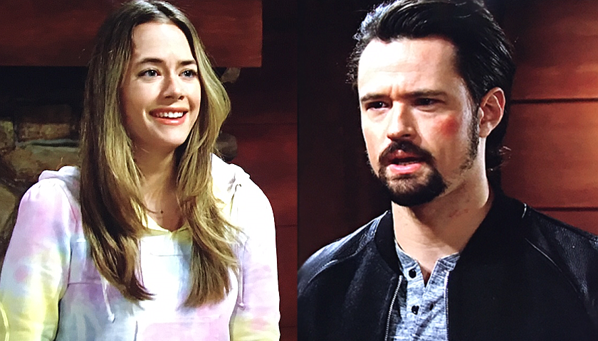 Bold And The Beautiful Scoop: Thomas Forrester Tells Hope Spencer About The Paternity Test