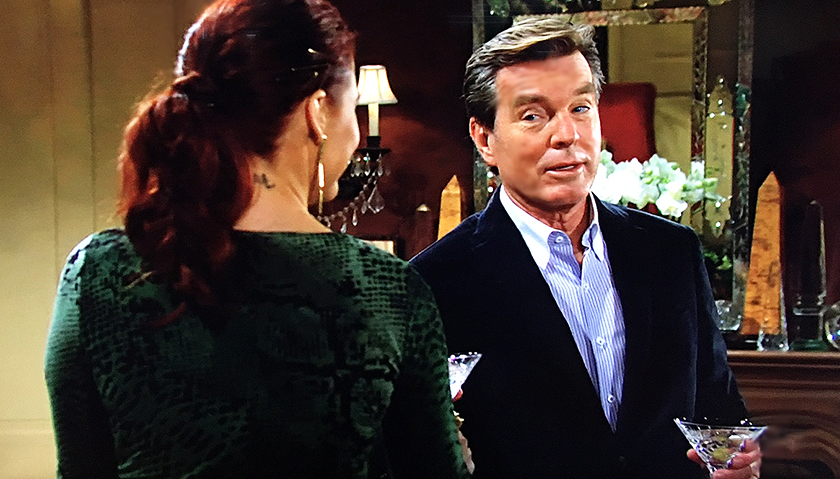 Young And The Restless Scoop: Jack Abbott Toasts With Sally Spectra