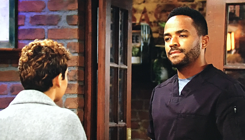 Young And The Restless Scoop: Nate Hastings And Elena Dawson Discuss Rey Rosales