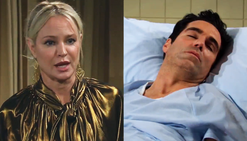 Young And The Restless Scoop: Sharon Rosales Tells Rey Rosales She Can't Lose Him