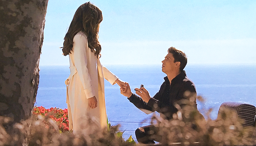 Bold And The Beautiful Scoop: Finn Proposes To Steffy Forrester