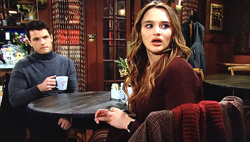 Young And The Restless Scoop: Summer Newman And Kyle Abbott Watch As Jack Abbott Kisses Sally Spectra