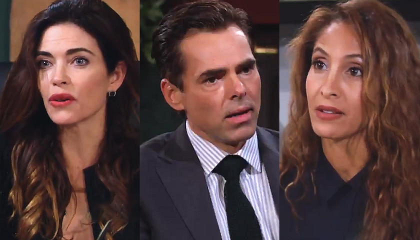 Young And The Restless Scoop: Does Billy Abbott Belong With Lily Winters Or Victoria Newman?