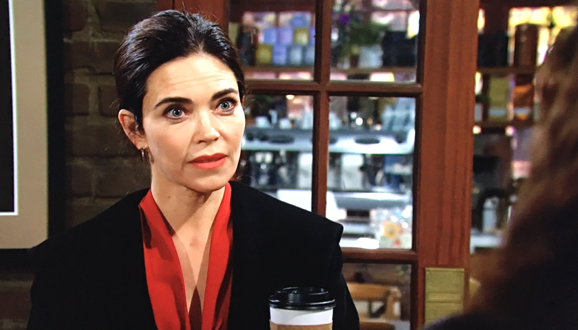Young And The Restless Scoop: Victoria Newman Argues With Lily Winters