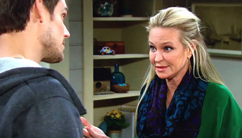 Young And The Restless Scoop: Adam Newman Asks Sharon Rosales To Set A Trap
