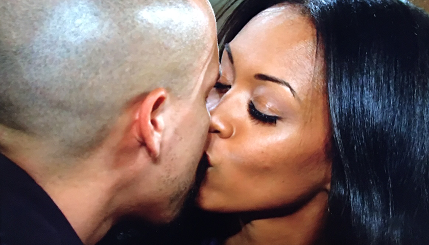 Young And The Restless Scoop: Amanda Sinclair Kisses Devon Hamilton